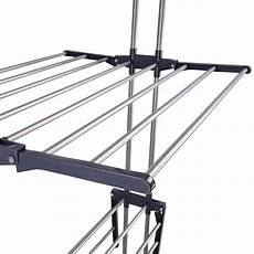 clothes rack foldable 66 quot laundry clothes storage drying rack portable folding