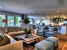 Living Kitchen Dining Open Floor Plan Best Open Concept Kitchen And Living Room Home Design
