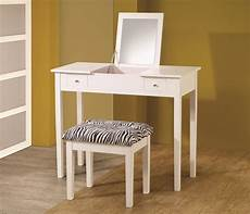 coaster vanities contemporary white lift top vanity with