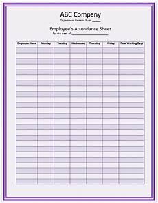Manual Attendance Register Format Office Staff Attendance Sheet Template Attendance Sheet