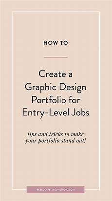 Entry Level Graphic Designer How To Create A Graphic Design Portfolio For Entry Level