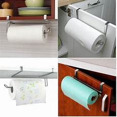 kitchen toliet roll paper towel holder stainless steel
