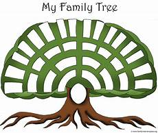 Family Tree Outlines Free Family Tree Templates Amp Genealogy Clipart For Your
