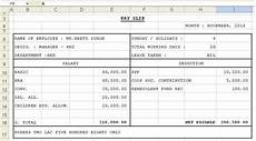 Salary Format Excel Sheet Get Salary Slip Format In Excel Microsoft Excel Templates