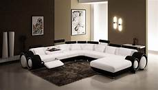 vig furniture 4084 contemporary black and white leather