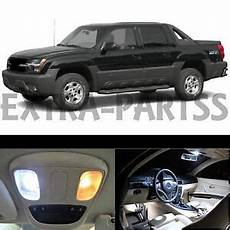 Led Lights For Avalanche 20x White Led Lights Interior Package Kit 2002 2006 Chevy