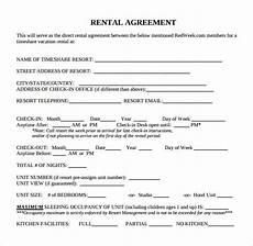 Free Download Rental Agreement Free Printable Basic Rental Agreement Template Business