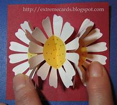 pop up card template flowers three flower pop up card tutorial