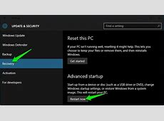 How to Access Windows 10 Boot Options Menu (6 Ways