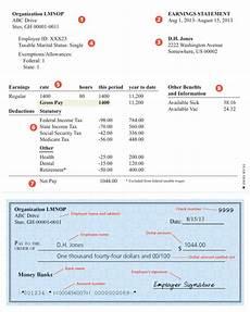 Paycheck Format Sample Paycheck