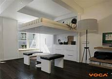 voga lift bed converts small spaces into multifunctional