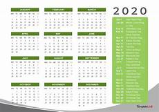 Year Calendar 2020 Printable 2020 Printable Calendars Monthly With Holidays Yearly