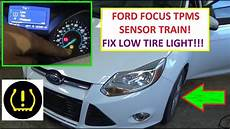Ford Fiesta Low Tire Pressure Light How To Train Tpms Tire Pressure Sensors On Ford Focus Mk3