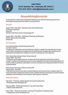 Music Teacher Resume Sample Creative Music Teacher Resume Sample
