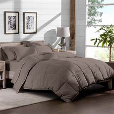 7 bed in a bag cal king comforter set taupe