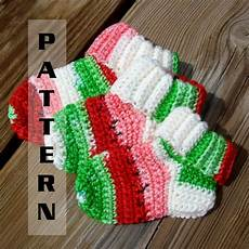 baby socks booties crochet pattern sock yarn by