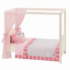 white pink my sweet canopy bed dollhouse furniture our