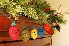 Crochet Christmas Lights Crafting Life In Eire Christmas Decorations Crochet