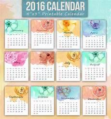 Mini Calendars To Print Printable Mini Calendar For 2016 Free To Download And Print