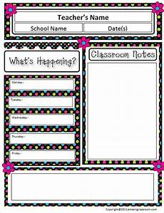 Editable Classroom Newsletter 12 Awesome Classroom Newsletter Templates Amp Designs