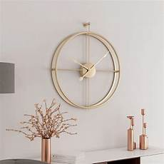 Fashionable Large Wall Clock Home Office by 55cm Large Silent Wall Clock Modern Design Clocks For Home