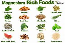 Magnesium In Foods Chart Beans Energy Therapy