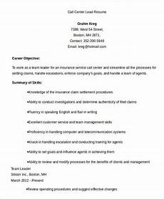 Objective Call Center Resume Call Center Resume Example 11 Free Word Pdf Documents