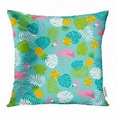 buy colorful flamingo pineapple tropical leaf