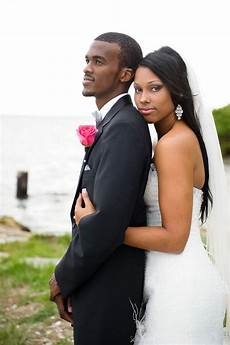 cute african american bride and groom brown brides and