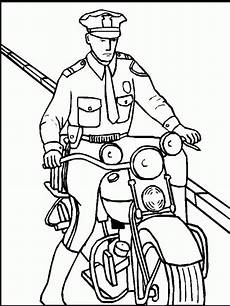 free printable policeman coloring pages for
