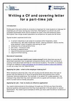 Part Time Job Cover Letter Student Engineering Student Part Time Job Cover Letter Templates