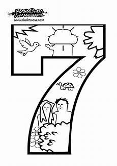 ausmalbilder zahlen vorlagen zum z 228 hlen lernen