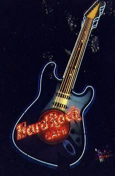 Neon Light Guitar Neon Light Guitar At The Hard Rock Caf 233 In Las Vegas