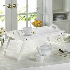 white wood breakfast in bed tray aewholesale