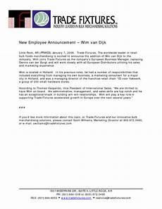 New Hire Announcement 6 Staff Announcement Templates Pdf Doc Free
