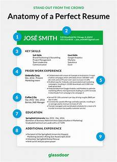 How To Do The Perfect Resume The Anatomy Of Perfect Resume Glassdoor Perfect Resume