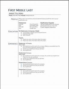 Student Resume Templates Free College Student Resume Templates Microsoft Word Google