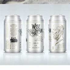 Crowler Label Design Crowler Label For Wise Man Brewing By Wooden Horse Label