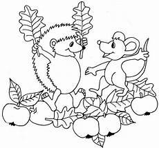 Ausmalbilder Herbst Laterne Herbst Ausmalbilder Zum Ausdrucken 06 Igel Ausmalbild