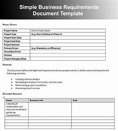 Sample Business Requirements Document Business Requirements Document Template Doliquid