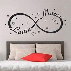 wall stickers da letto wall sticker adesivi murali simbolo infinito gigio