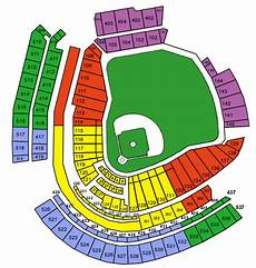 Great American Ballpark Seating Chart Row Numbers At Cincinnati S Great American Ballpark What Is The First