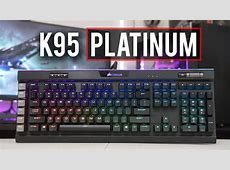 Corsair K95 RGB PLATINUM Review! Best New Gaming Toy?   YouTube