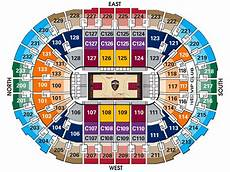 Hob Cleveland Seating Chart Cavs Seating Chart Amulette