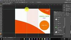 Photoshop Brochure Templates How To Design A Brochure In Photoshop Cs6 Youtube