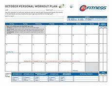 Program Card Fitness Template 40 Effective Workout Log Amp Calendar Templates ᐅ Templatelab