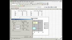 How To Make A Box Plot Excel How To Create A Box And Whisker Plot In Excel 2003 Youtube