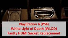 White Light On Ps4 But No Picture Playstation 4 Ps4 White Light Of Death Wlod Faulty