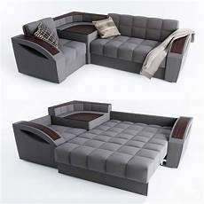 Sofa Bed 3d Image by Corner Sofa Bed Montreal With A Left Angle Hoff 3d