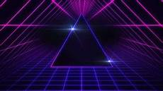 Black Techno Wallpaper 4k by The 80s Space Motion Background The Skit Guys